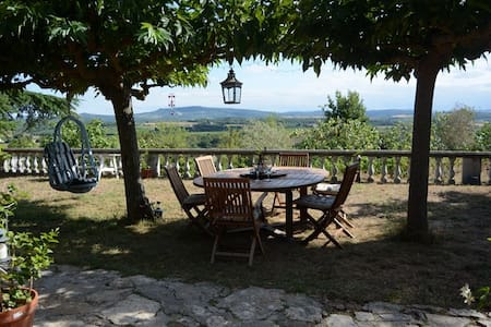 Stunning views from country house