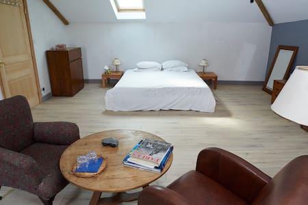 """Room1 with a view """"La Gimbretière""""  - Bussière-Poitevine"""
