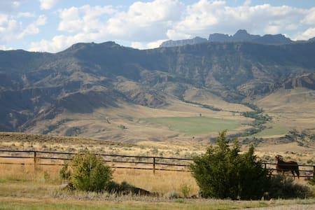 Yellowstone National Park vicinity - Cody - Flat