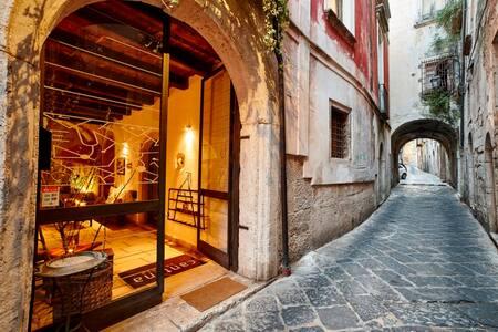 Appartamento con terrazzo palazzo storico XVI sec. - Apartment
