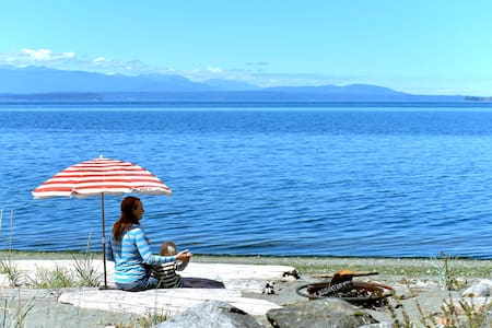 On the Water - Whidbey Beach House