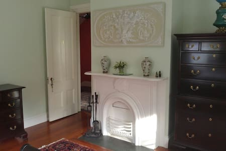 Grand Bedroom in Historic Newport - Newport - Casa