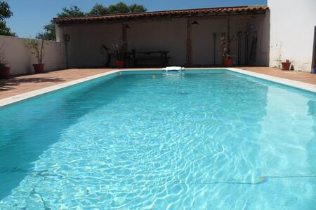 Peaceful house with private pool. - Cercal - Casa