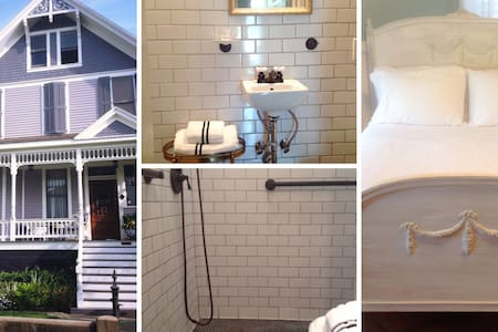 Historic Home Private Bed & Bath #1 - Galveston - Bed & Breakfast