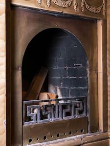 Шикарный семейный номер с камином - Appartement