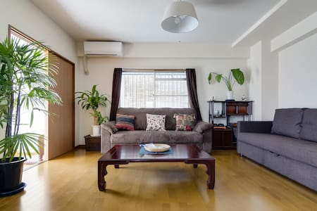 3Bd Maisonette w/parking 1 min. from JR Line - Apartament