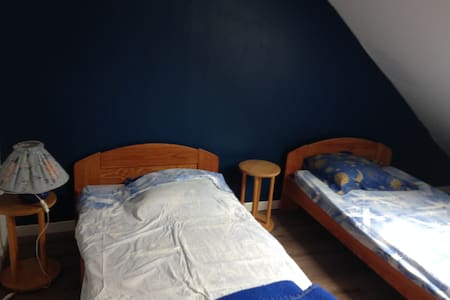 chambre orange - Rumah