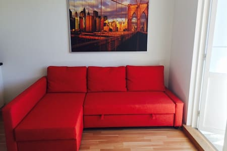 MALMO Orange Couch