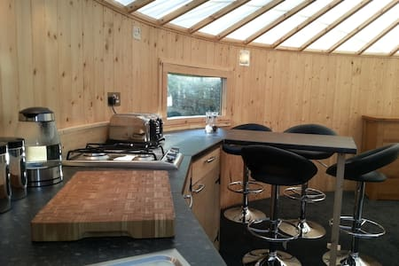 The Roundhouse,  working Lake District Farm - Chalet