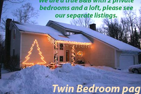 Stratton Mountain Area B&B, Twin - Winhall