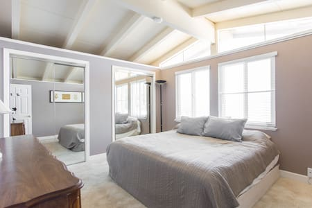 *3* PRIVATE BATH King bed aqua tkt - Seaside - House
