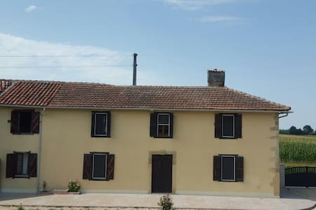 Panquere Rustic Farmhouse with Wood - Castelnau-Magnoac