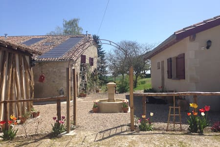 Gorgeous Cottage with Shared pool - St Pierre sur Dropt - House