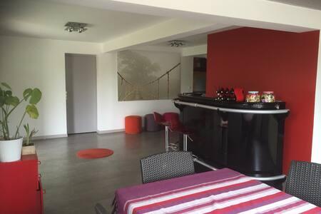 Maison rénovée 180m2+jardin - Casa