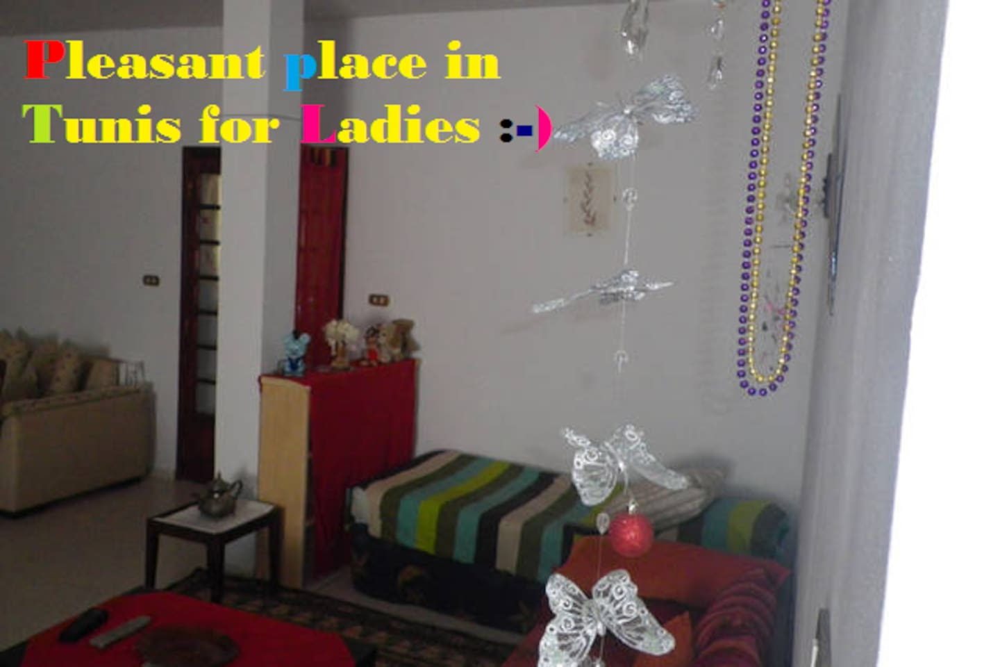 Pleasant place in vatse house4 lady