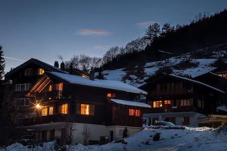 Cosy chalet with beautiful view in Wallis(CH). - Fiesch - Lomamökki