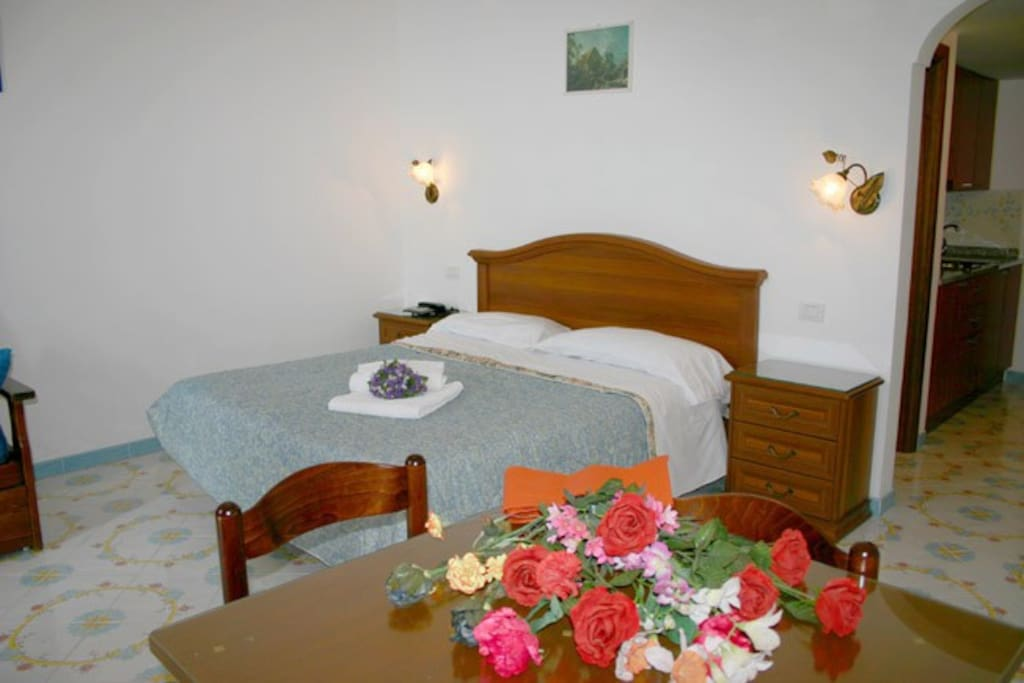 The double room of Cinzia apartment