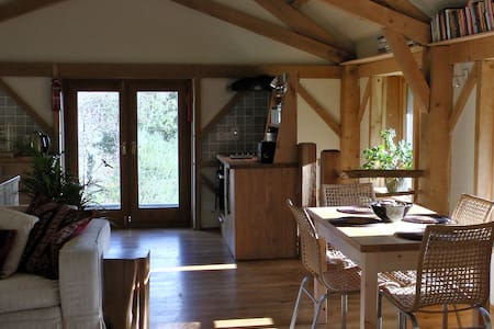 Nant yr Onnen Barn with hot tub - Llandovery - House