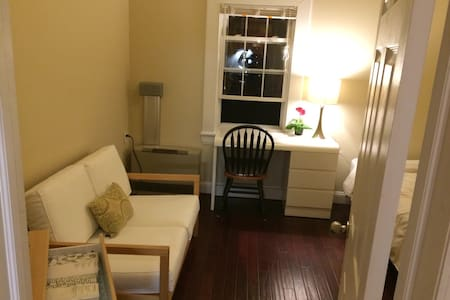 Cozy Bed+Pkg next to Yale