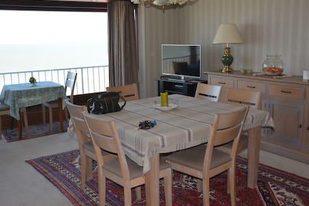 Beautiful sea view apartment Blankenberge - Lakás