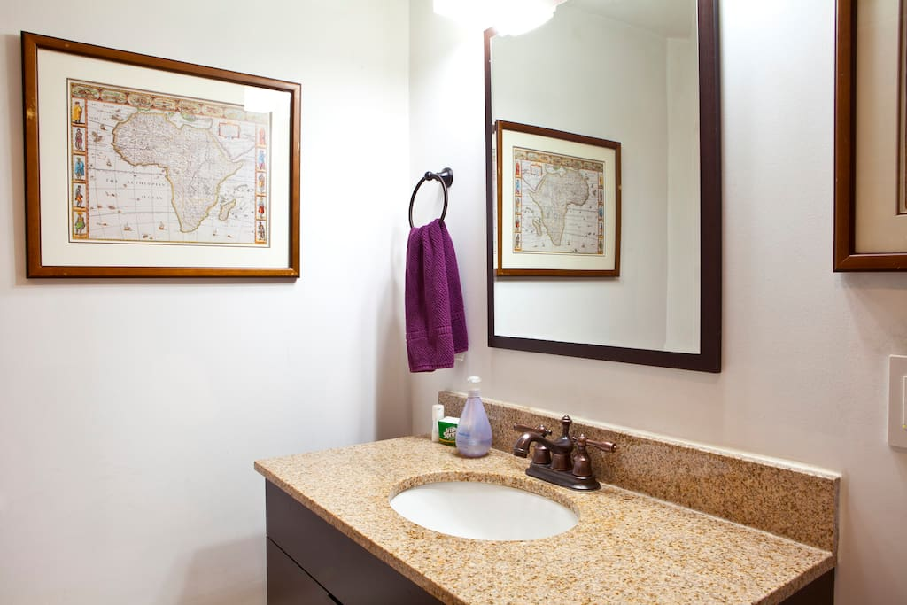 Your own bathroom, just renovated