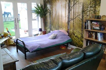 lovely big room in family house chorlton - Casa