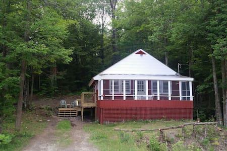 Little Belle Eligo Lakeview Cabin - Craftsbury - Casa de campo