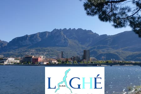 B&B LAGHE', Lecco center, lake view - Bed & Breakfast