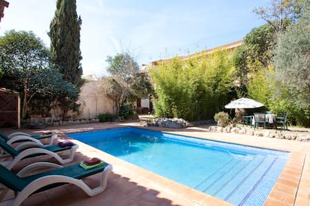 Summer apartment with pool & garden - Alaró - Wohnung