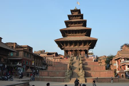 Cozy room near Hanuman Ghat and Taomadhi Square - Bhaktapur - Casa