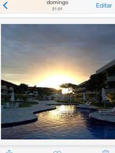 Condomínio à beira mar - Praia dos Carneiros - Lägenhet
