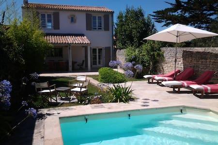 Maison de charme sur l'île de Ré - La Couarde-sur-Mer - Villa