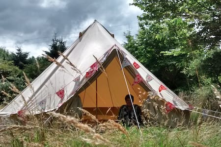 Bell tent with magic mountain view - Mynachlog-ddu - Tent