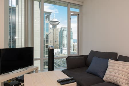 Heart of Downtown Modern Condo - Vancouver - Apartment