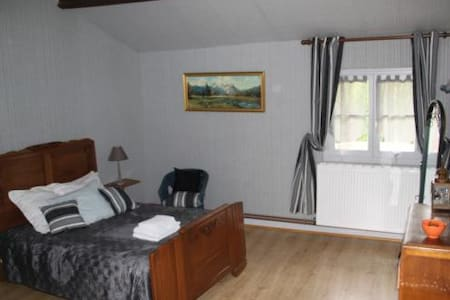 Chambre double Grise - Bed & Breakfast