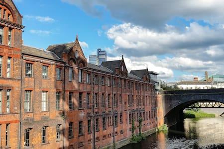 Stunning Victorian downtown flat - Manchester - Pis