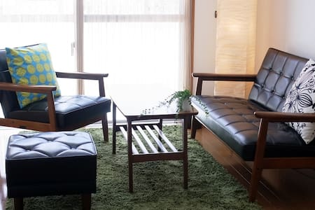 Cozy Tatami rooms with Futons, Naha - Naha-shi - Appartement