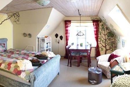 Dejlig lille lejlighed med køkken. - Stege - Bed & Breakfast