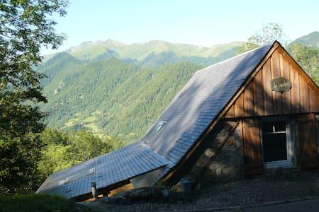 Grange montagne plein sud (Wifi) - Haus