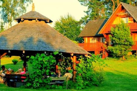 House in Kashuby 30km Gdansk - Haus