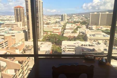 Downtown Honolulu Apartment