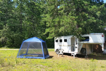 Kennebunk RV-Trailer on Small Farm