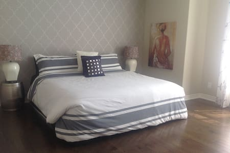 King bed with en-suite