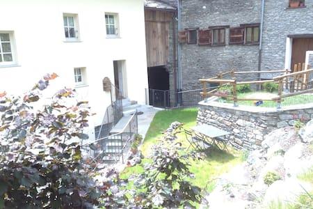 ❤️Lovely flat, garden, near Aosta - Wohnung