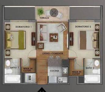 Habitación con baño en suite - Byt