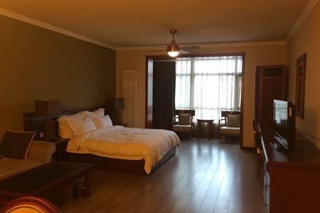 崇礼雪友的温暖小窝6号大床房F604 - 张家口 - Appartement