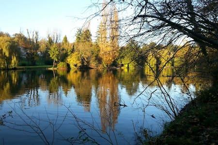 Au bord de l'eau au cœur parc ch 1 - Choisy-au-Bac - Bed & Breakfast