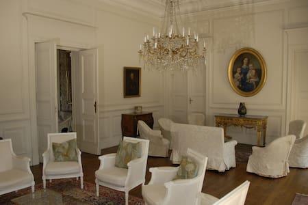 Château de famille à Seyre - Linna