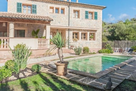 Can Blau, beautiful private home with all modern facilities. Stone House. - Puigpunyent - Villa