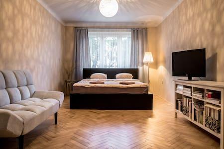 Lovely 60m2 Apartment near Centre - Prag - Wohnung